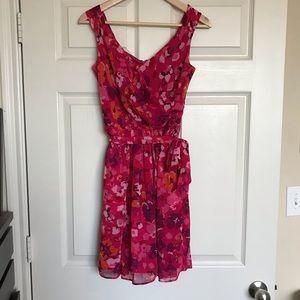 Pink Express Floral Dress